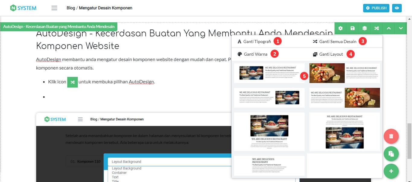 AutoDesign - Kecerdasan Buatan yang Membantu Anda Mendesain Komponen Website